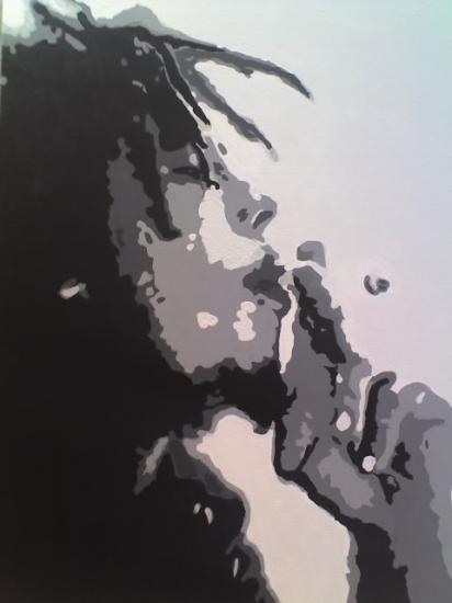 Bob Marley by marinamusgrove